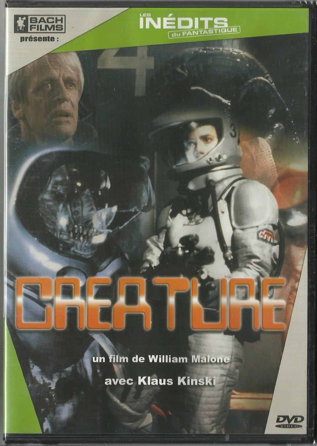 Image du DVD du film Créature de William Malone