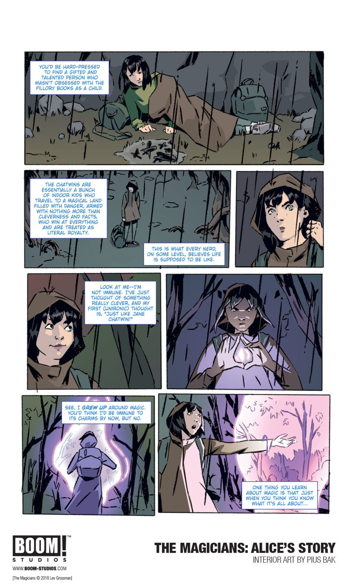 Image du comics The Magician : Alice's Story