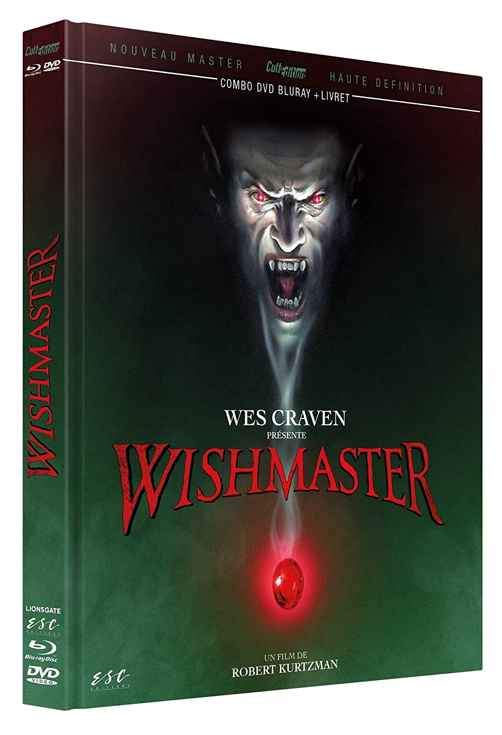 Wishmaster [Édition Collector Blu-ray + DVD + Livret]