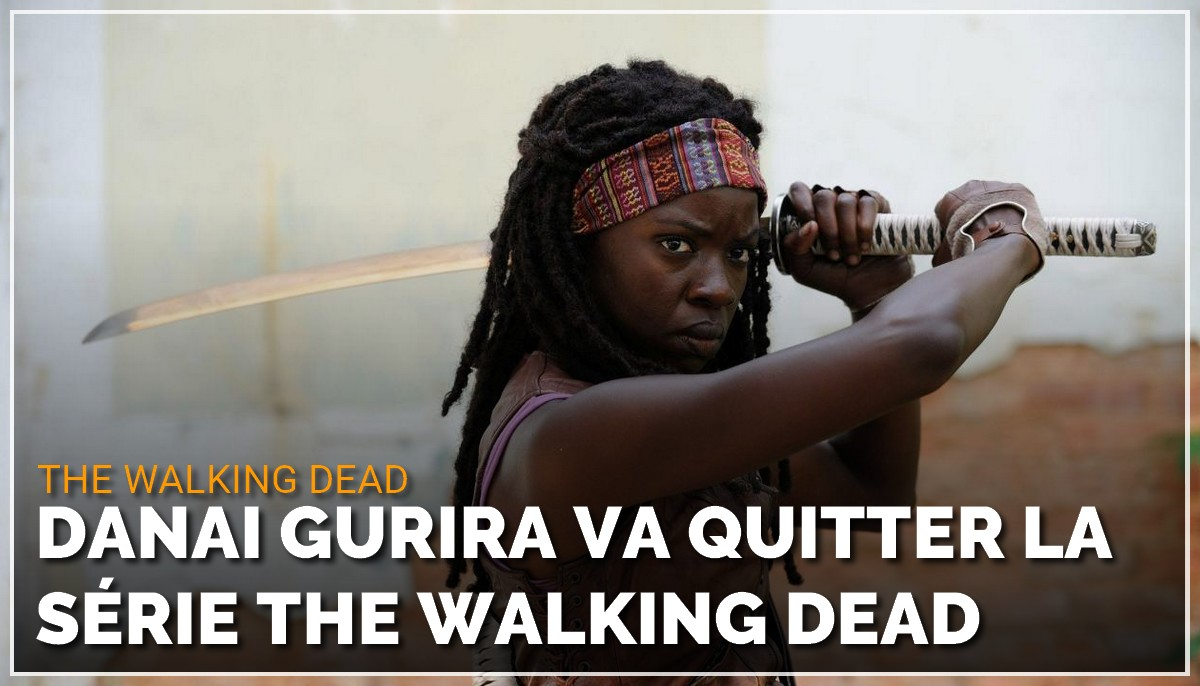 Danai Gurira va également quitter la série The Walking Dead