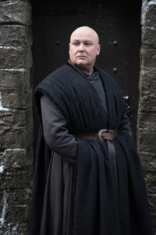 Image de Varys dans la saison 8 de Game of Thrones
