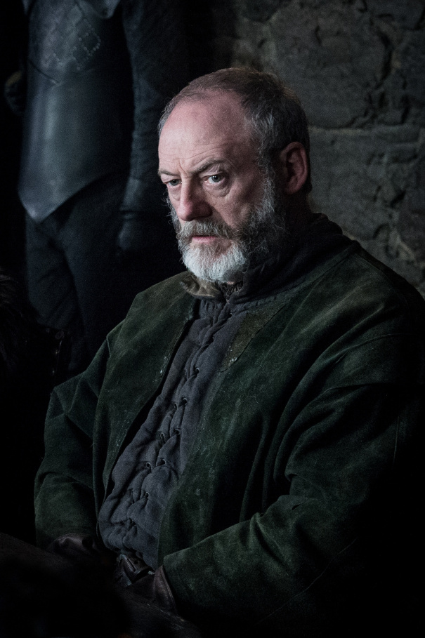 Image de Ser Davos dans la saison 8 de Game of Thrones