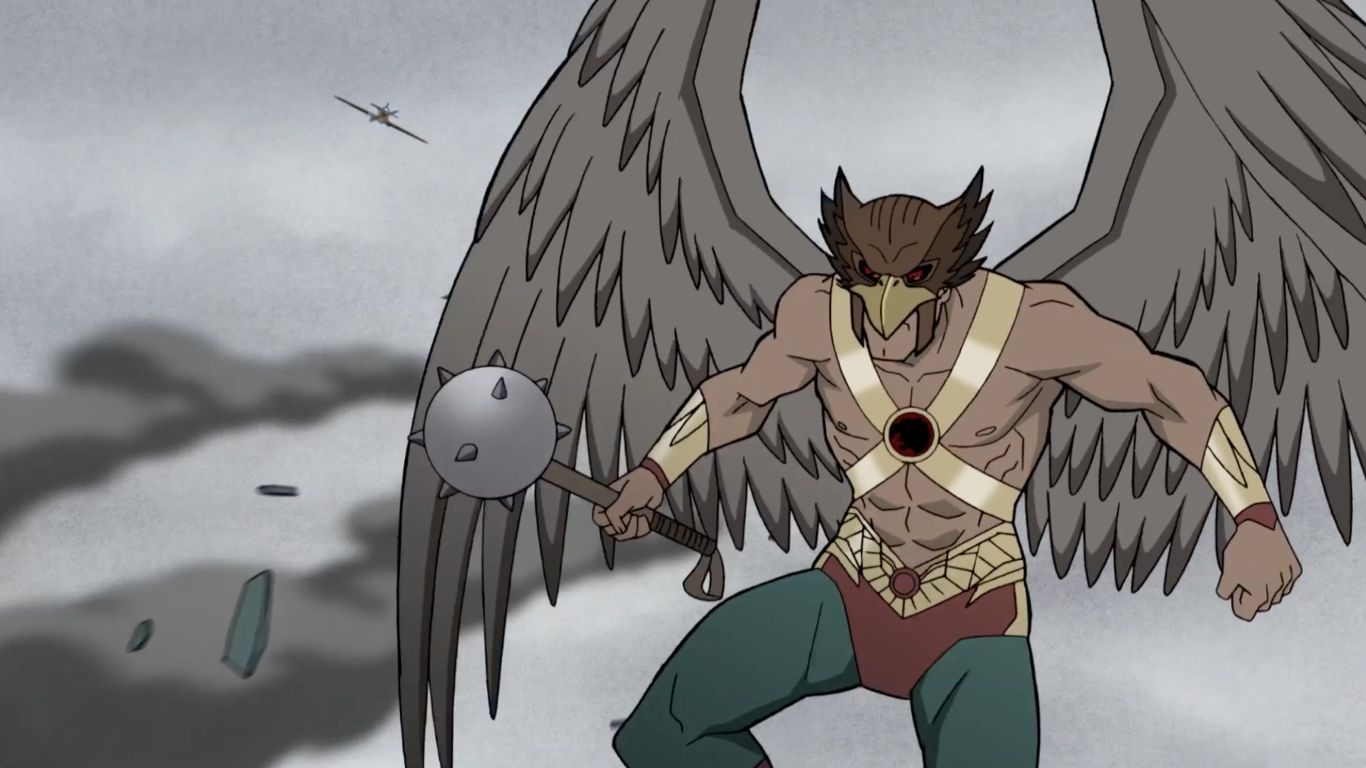 Image de Hawkman dans le film d'animation Justice Society : World War II