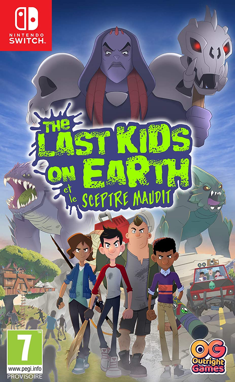 The Last Kids On Earth et Le Sceptre Maudit [Switch]