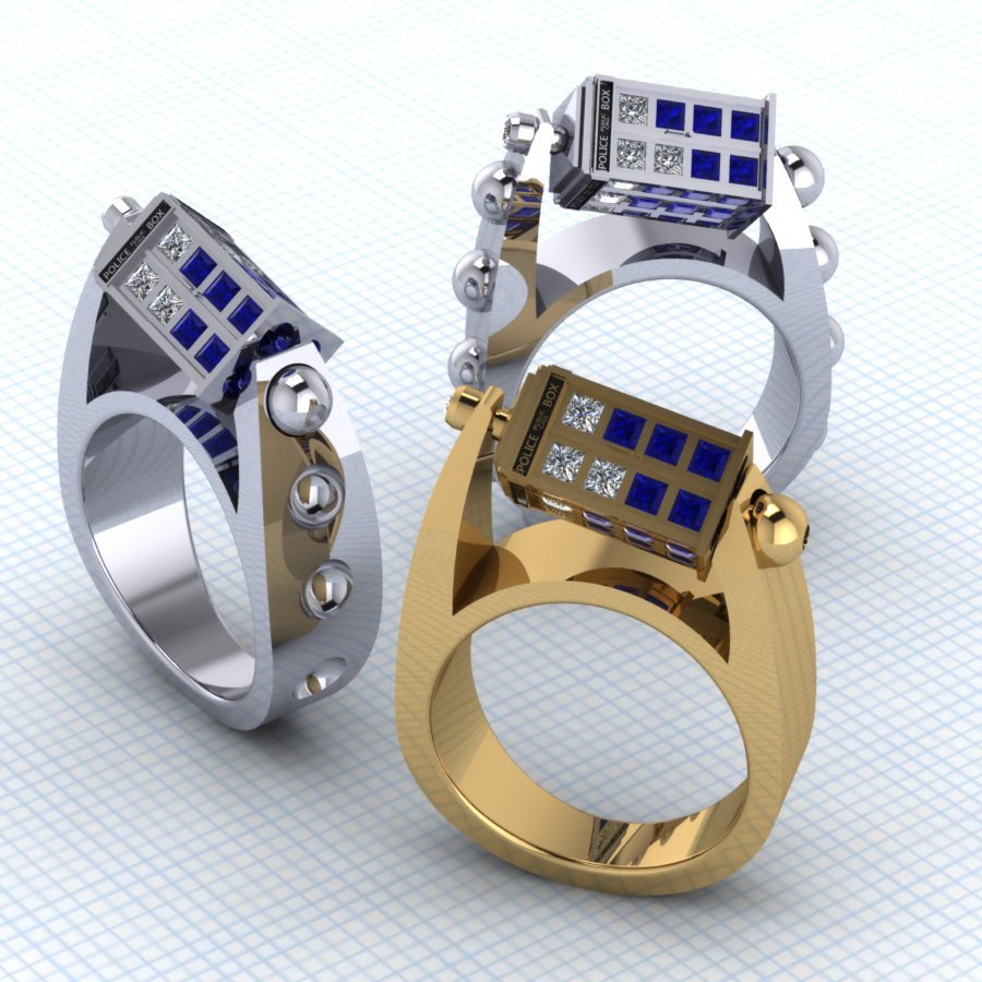 Une bague Doctor Who