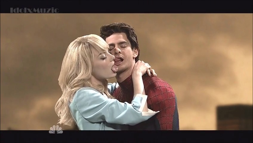 Le Making-off de la scène du baiser finale de The Amazing Spider-Man 2