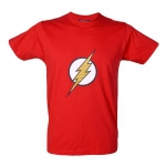 T-Shirt Flash Rouge Logo
