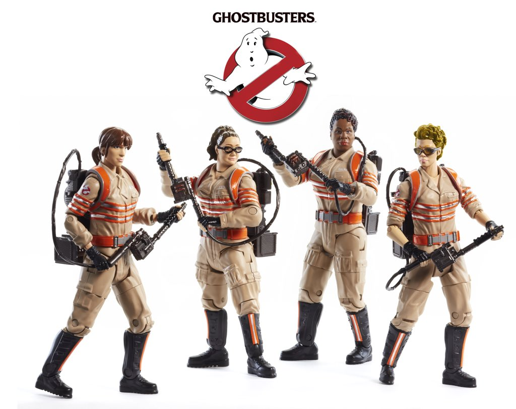 Le prototype des figurines Ghostbusters 3