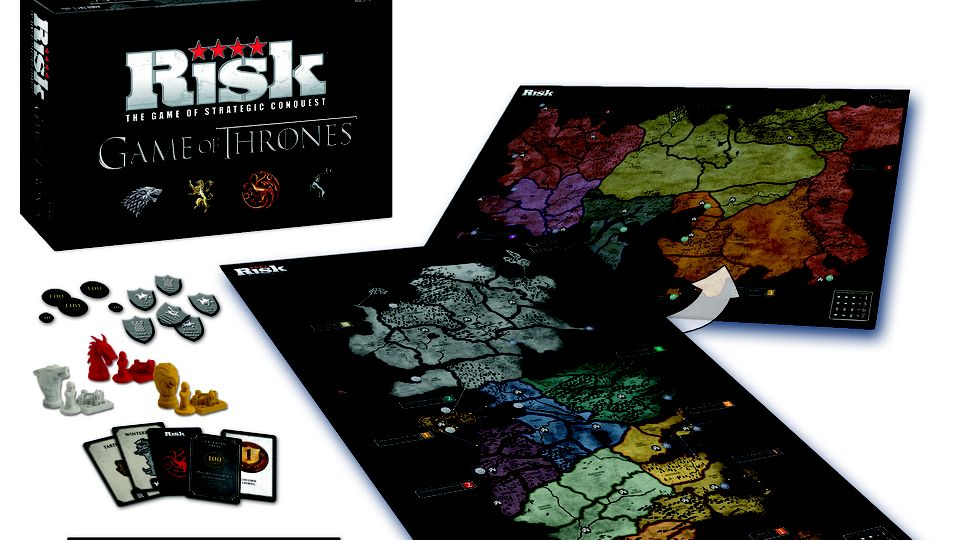 Un jeu de plateau Risk Game of Thrones