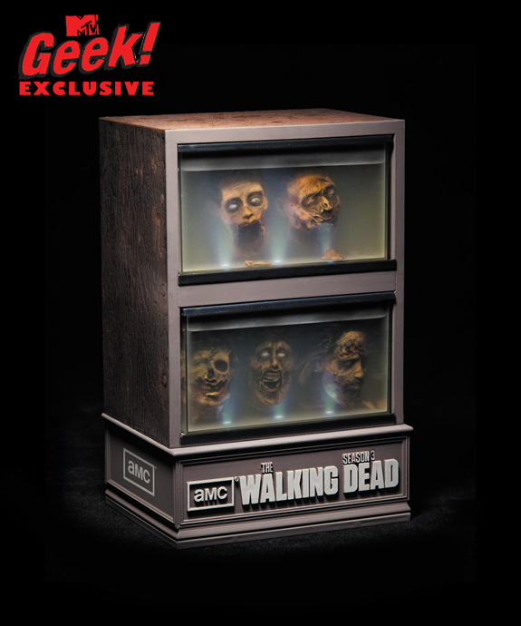 Coffret DVD Saison 3 de The Walking Dead