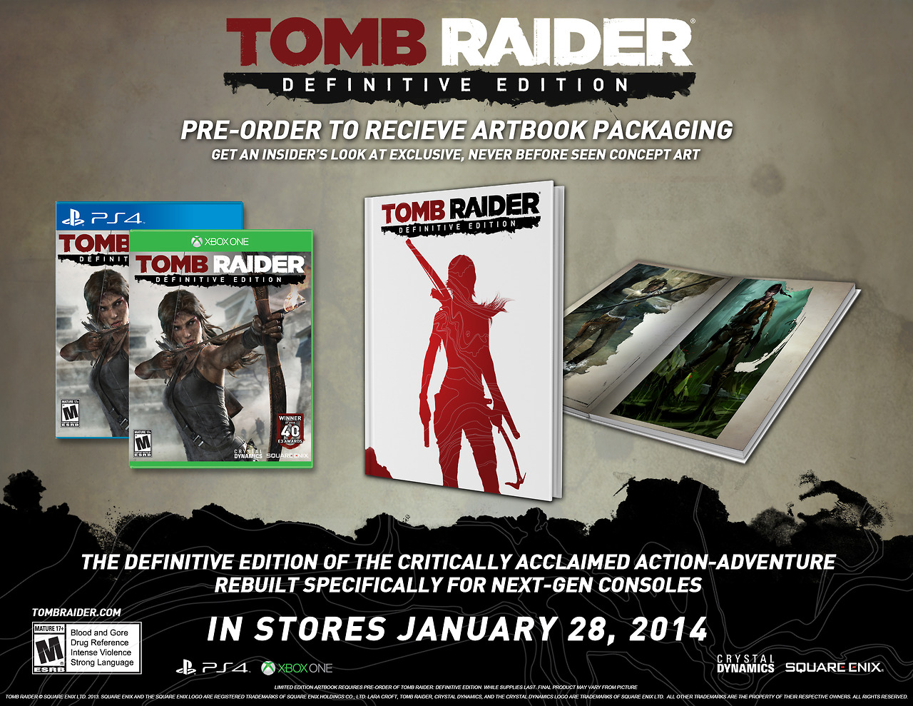 Tomb Raider Definitive Edition Pack