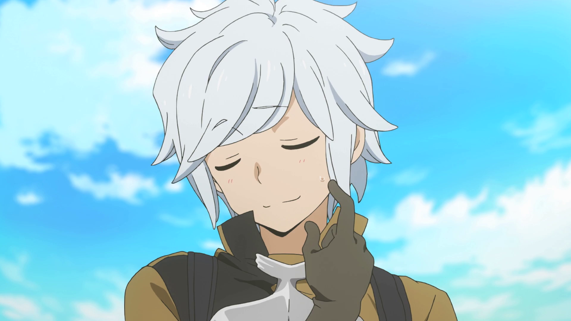 The gallery for --> Evil White Haired Anime Boy