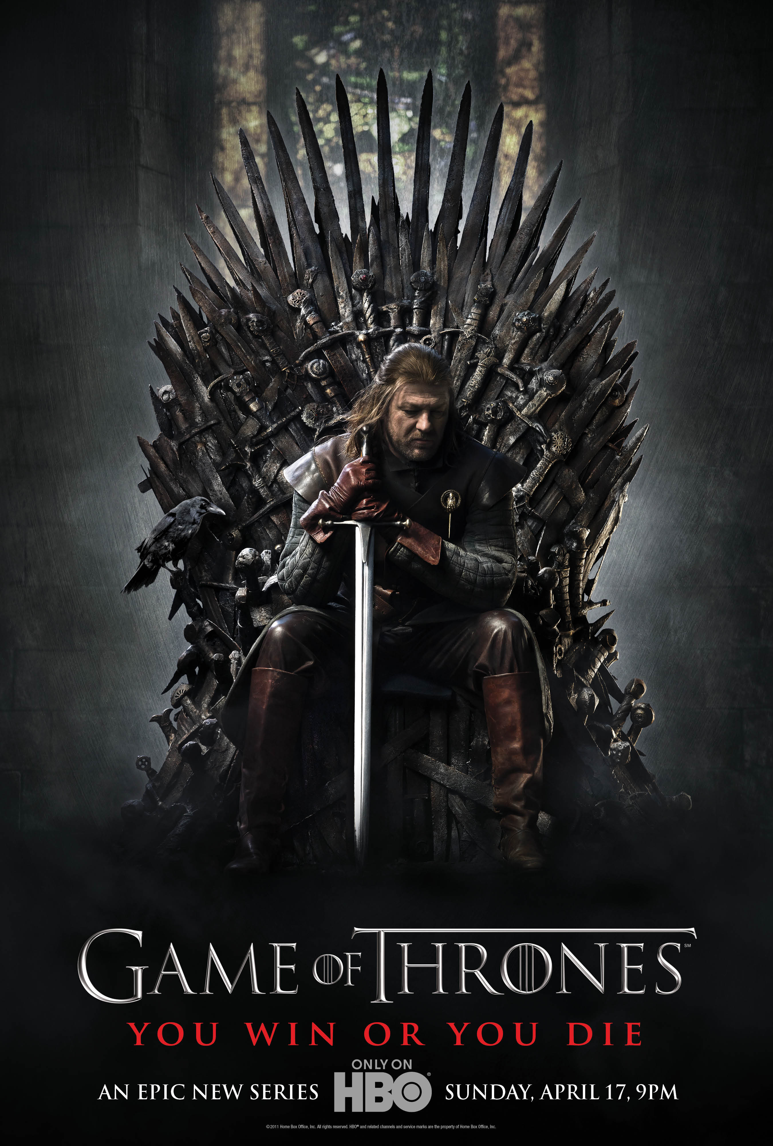 Affiche de la saison 1 de Game of Thrones